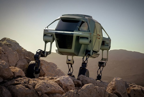 """Hyundai's Center for Robotic-Augmented Design in Living Experiences (CRADLE) division has created the """"Ultimate Mobility Vehicle."""""""