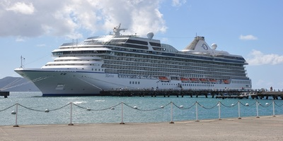 The Marina cruise ship.