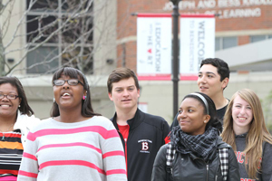 Students at Benedictine University.