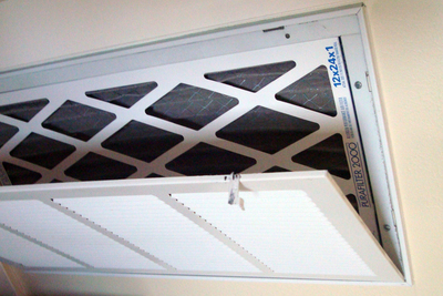 Changing the air filters is one of the most forgotten chores in a home.