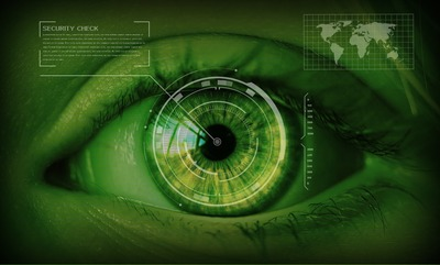 Data security retinal scan