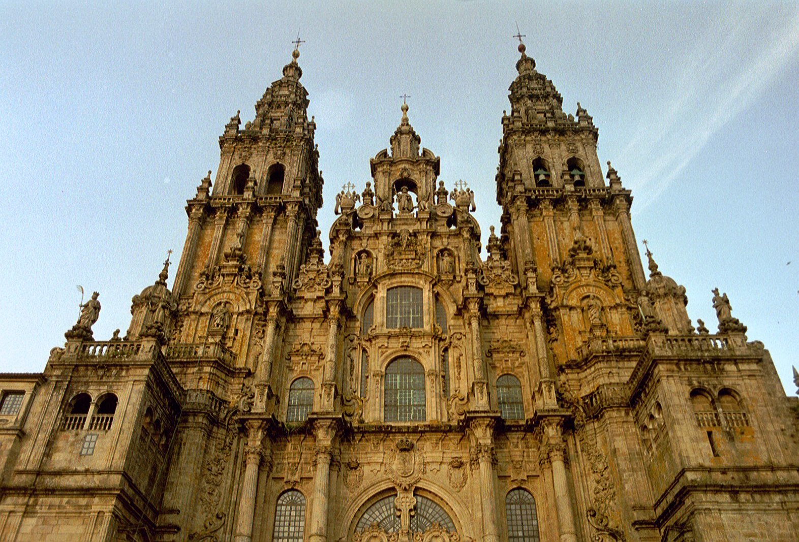 Camino de Santiago is a journey to the Cathedral of Santiago de Compostela in Spain in honor of Apostle St. James.