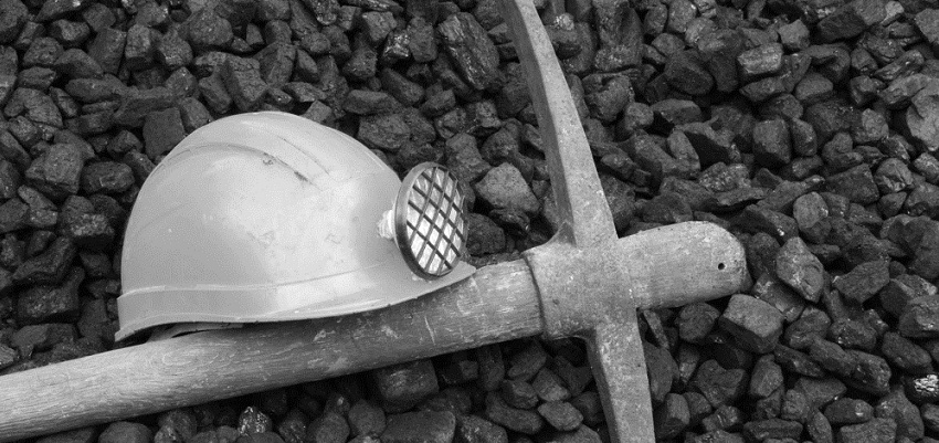 A miner's pension seems caught between a rock and a hard place