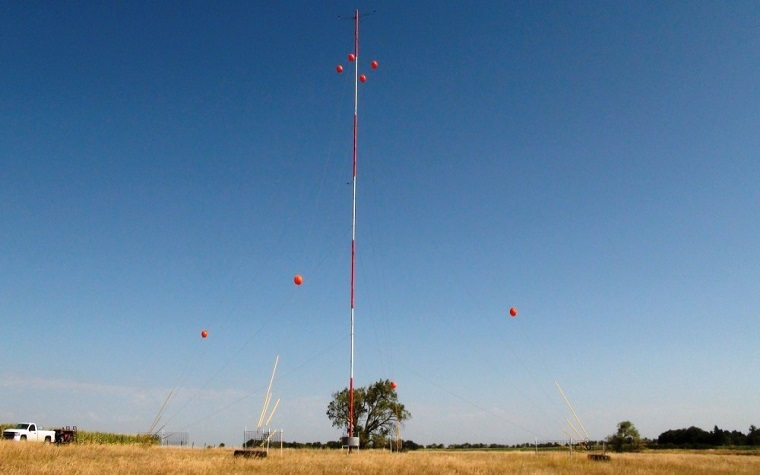 Meteorological evaluation tower
