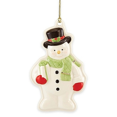 Lenox Holiday Snowman Cookie Press