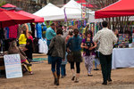 The East Austin Handmade Arts Market, which is held monthly behind The Vortex, features food, crafts, live music and more.