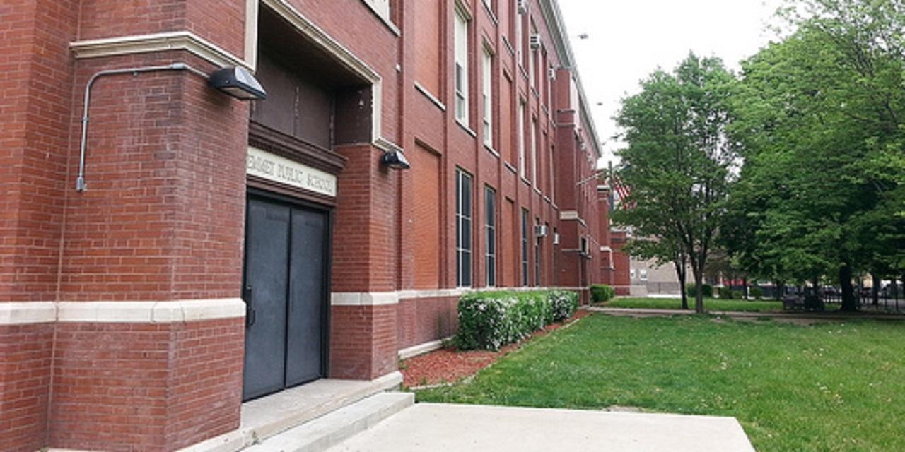 Emmet Elementary School on West Madison, Chicago School District 299