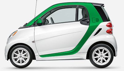 Compact and built for two, the Smart fortwo coupe offers winning fuel efficiency.