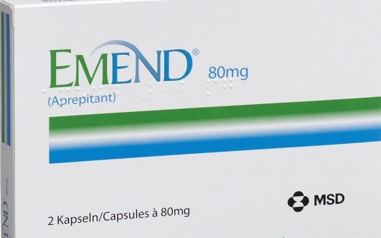 Merck's Emend therapy has been approved for the treatment of nausea and vomiting in chemotherapy patients.
