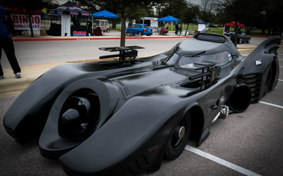 The Batmobile is one of the more unique cars expected at the Rouse Raiders Rock-N-Rides car show.