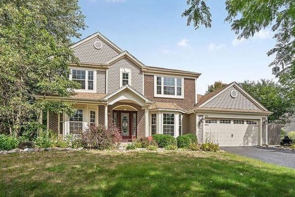 The home for sale at 515 Surrey Ridge Drive in Cary had a property tax bill of $8,700 in 2017.