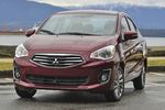 Mitsubishi expands the Mirage lineup to include a four-door sedan. The engine continues to be a 1.2-liter three-cylinder engine.