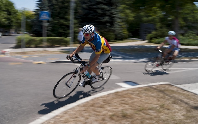 Participants had the options of six-, 18-, 38- or 69-mile rides.