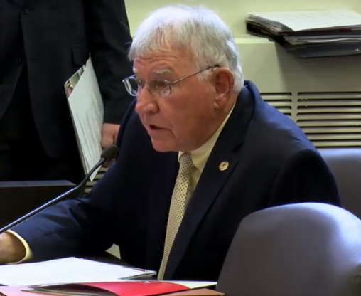 Former principal and Rep. John Cavaletto (R-Salem) discusses teacher shortage at House Appropriations Elementary and Secondary Education Committee Meeting April 9