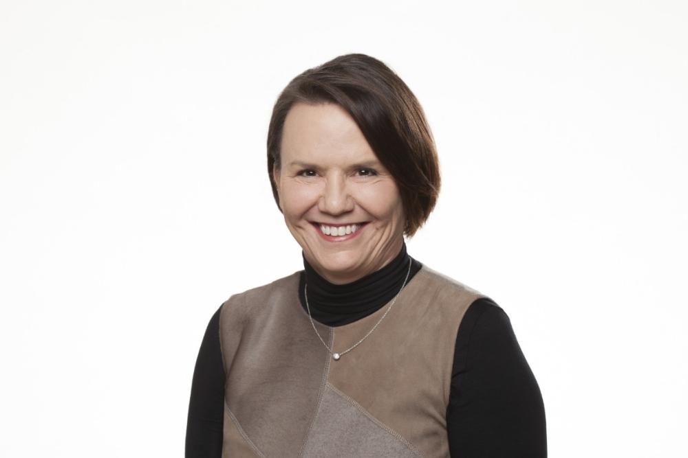 Beth Sweetman, Hallmark's new senior vice president of human resources.