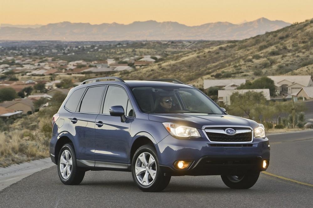 Subaru Senior Vice President Jeff Walters attributes the excellent sales to the Forester.