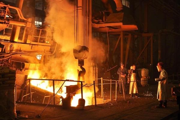 Large steel