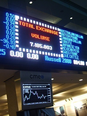 Large chicago mercantile exchange