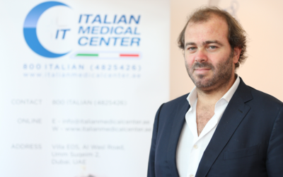 Simone Improta, CEO of the Medicina Futura Group