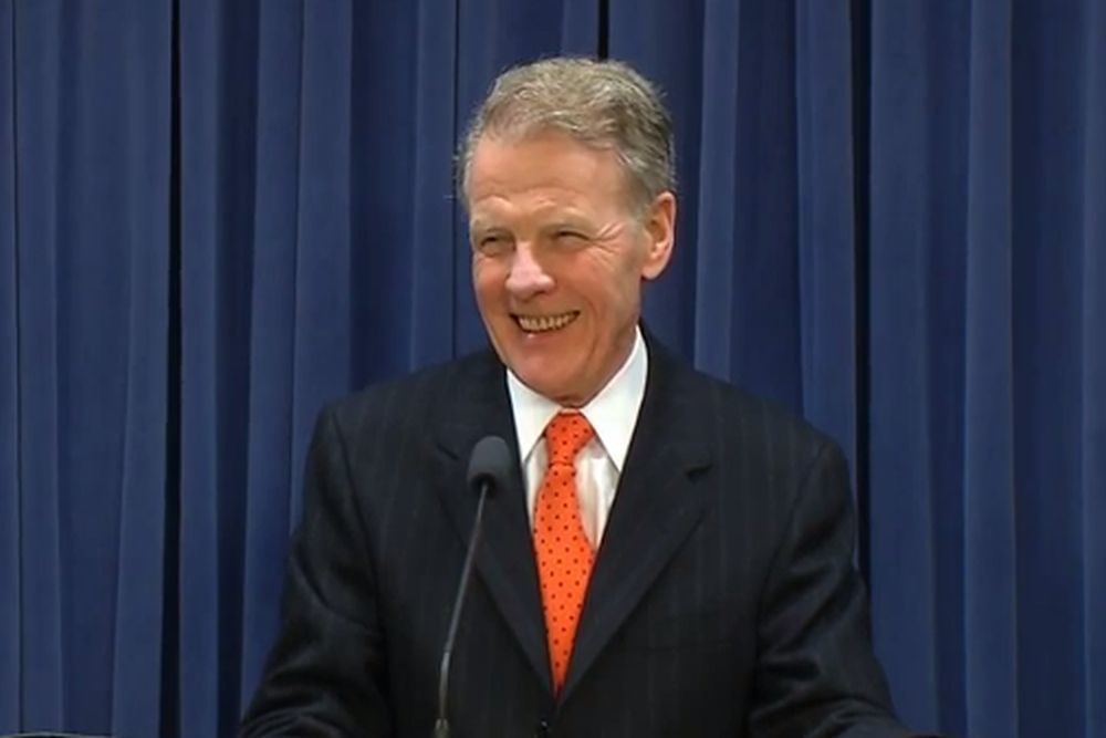 Democratic House Speaker Michael Madigan's campaign received nearly $800,000 in campaign contributions from AFSCME, which represents state, county and municipal employees.
