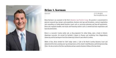 Brian Korman