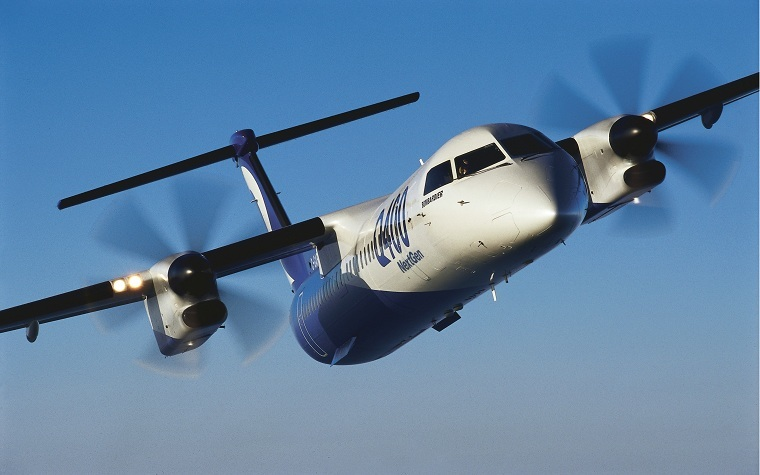 Bombardier's Q400 Airliner awarded type certification for Brazilian operation.