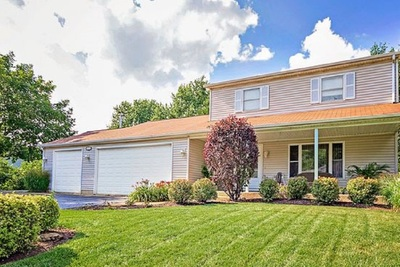 This three-bedroom home, 608 W. Sheridan Road in Lakemoor, has a property tax bill of $5,829.