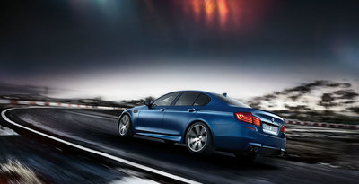 The 2015 BMW M5 sedan was rated 8.3 out of 10 by the experts at Kelley Blue Book.