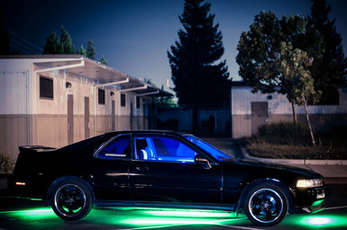 Trick out your ride with undercarriage lighting features.