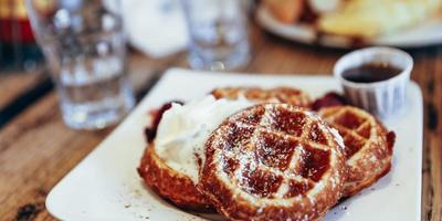 Waffles have a presence in countries including France, Belgium and the United States.