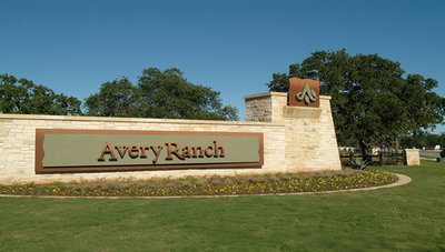 Avery Ranch is conveniently located near local golf courses.