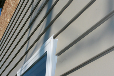 Vinyl siding is somewhat labor-intensive to keep clean.