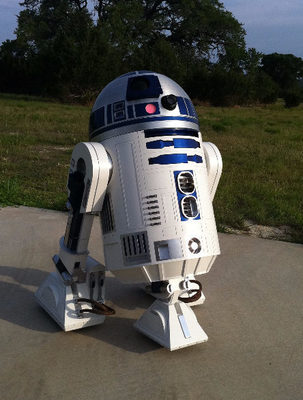 The event's iconic movie vehicles include those used by everyone's favorite Star Wars droid.