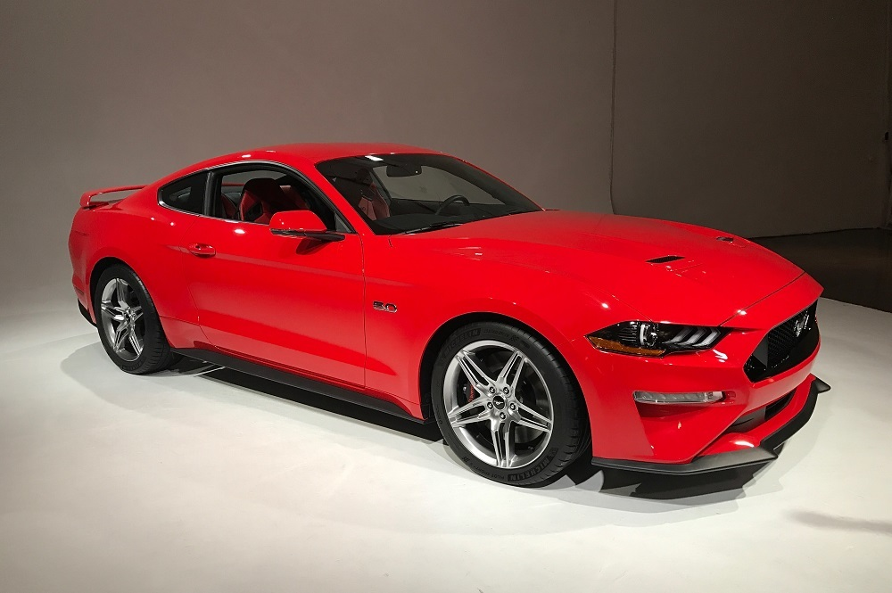 The 2019 Ford Mustang has heated and cooled front seats available.