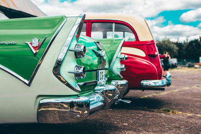The annual show held at the Georgetown Airport includes classic cars, exotics and hot rods.