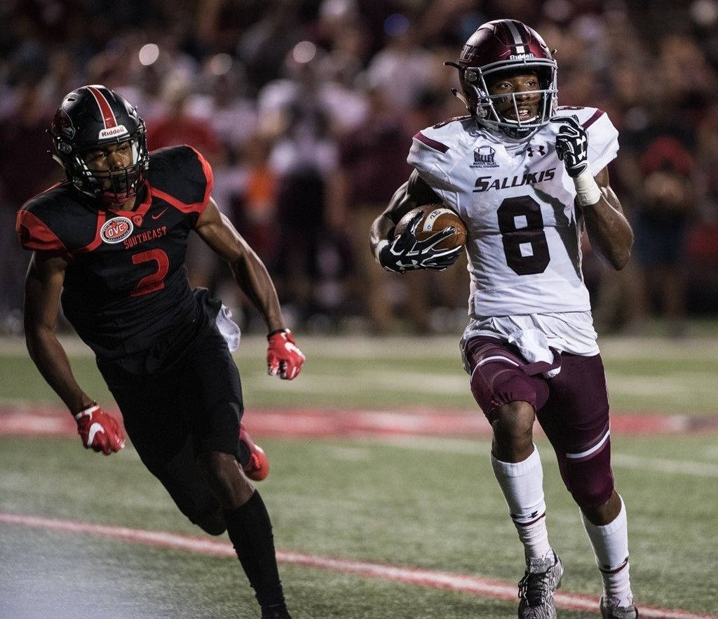 SIU's football season will end on Nov. 18.
