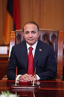 Armenian Prime Minister, Hovik Abrahamyan