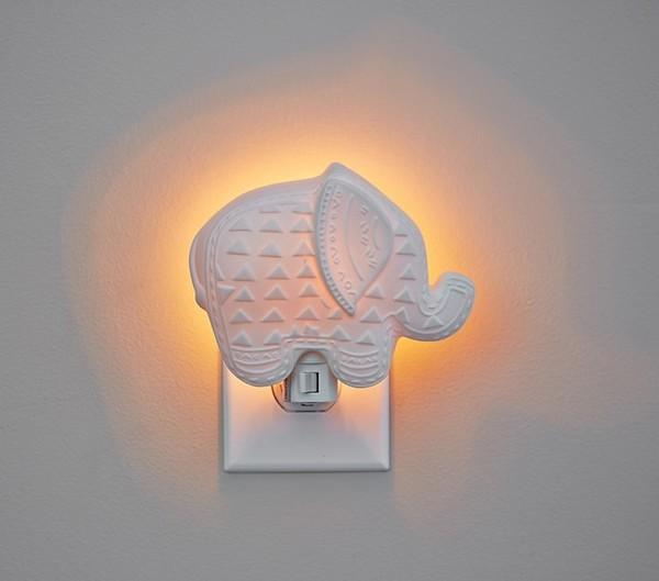 Ceramic Elephant Nightlight