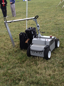 The X-Ray Scanning Rover currently in development by the DHS Science and Technology Directorate's First Responders Group.