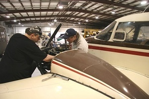 A donation will allow Lincoln Land Community College to expand its aviation maintenance program.