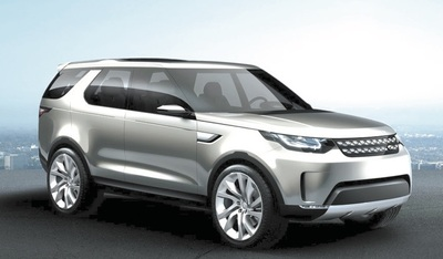 The upcoming Land Rover Discovery will replace the LR4 and will look something like this Discovery Vision concept.