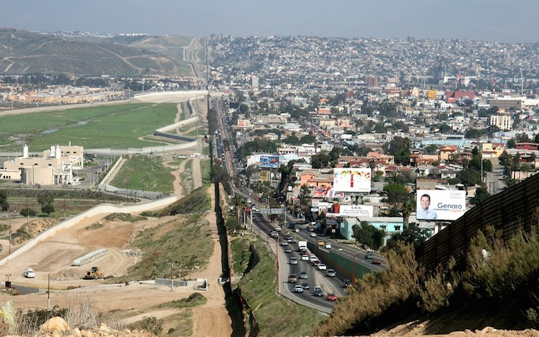 The U.S.-Mexico border