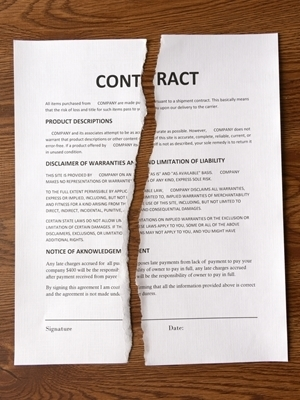 Large contract breach