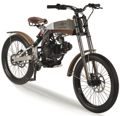 The three different Motoped models include the Pro, Cruiser and Survival.