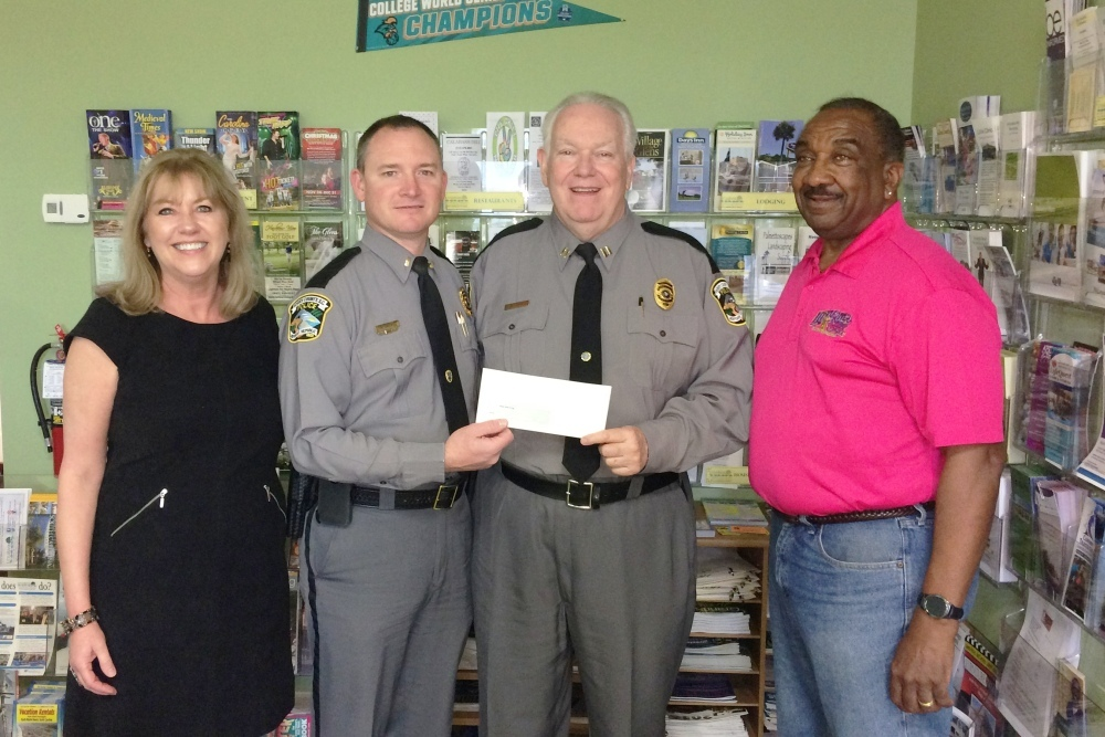 The Little River Chamber made a contribution to the Horry County