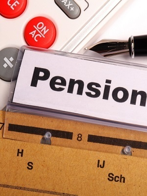 Large pension calculator