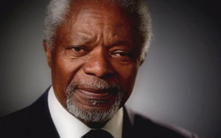 Africa Progress Panel Chairman Kofi Annan