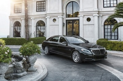 Smooth lines are typical of the Maybach.