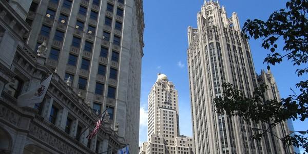Large tribune tower