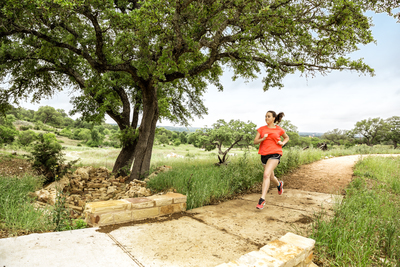 Rancho Sienna residents can enjoy more than 100 acres of unique parks and trails meandering through Hill Country canyons, bluffs and woodlands.